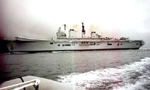 Battleship in the Gulf