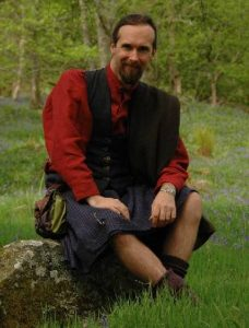Scot AnSgeulaiche, Highland storyteller and guide.
