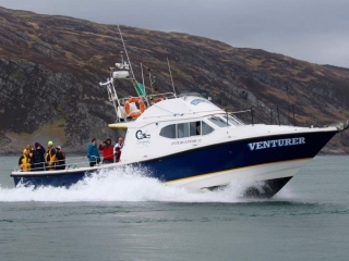 Venturer in the Gulf of Corryvreckan